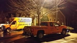 Water Damage Tarpon Springs Company Truck